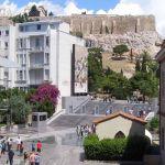 Вид с музея Акрополя