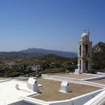 Вид на Тинос с церкви
